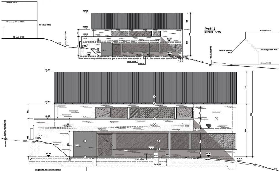 s f nandrin permis d 39 urbansime en cours green architecture design. Black Bedroom Furniture Sets. Home Design Ideas